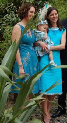 silk and linen mix shift wedding dress
