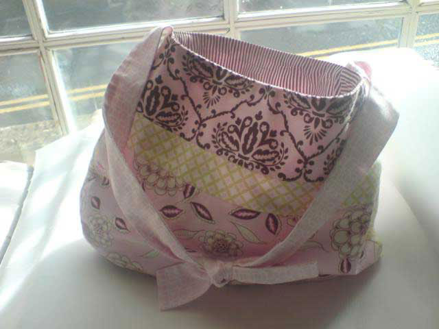 quilted cotton bag