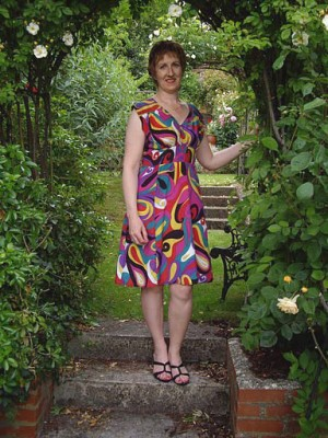 pucci print silk crepe de chine dress
