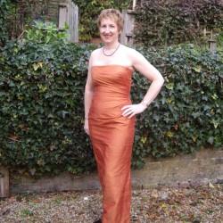 silk dupion strapless evening dress