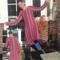 Missoni knit A-line dress