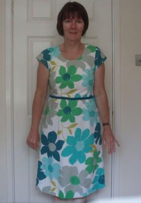Boden floral cotton lawn dress