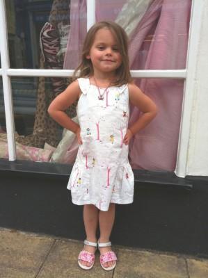 Aneela Hoey printed cotton dress