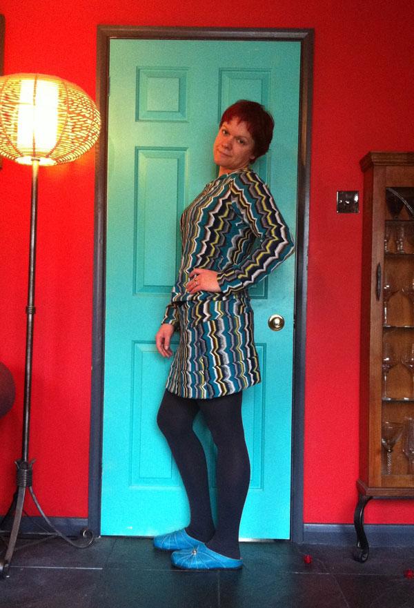 missoni knit mini skirt and top