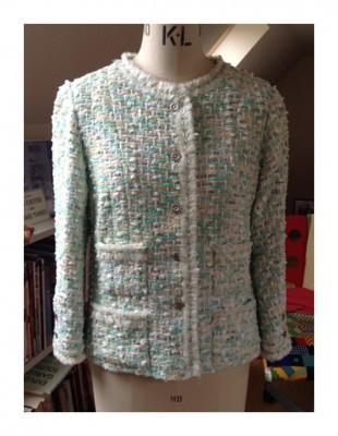Chanel style jacket in Linton Tweed