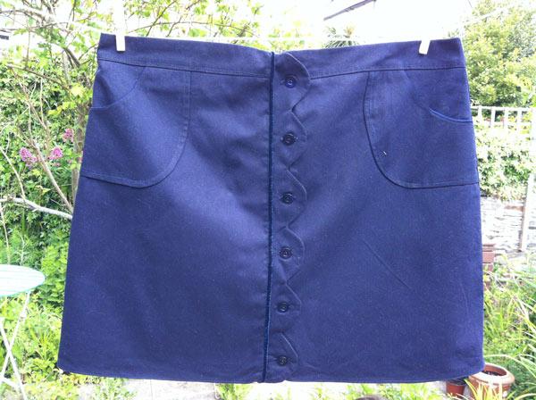 cotton drill skirt