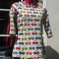 car printed jersey T-Shirt
