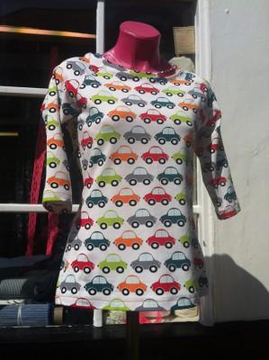 car printed jersey T-Shirt