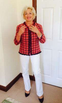 Red Linton Tweed