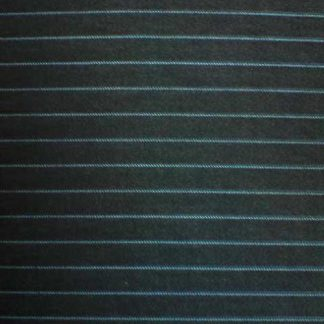 charcoal grey and aqua blue pinstripe worsted wool suiting