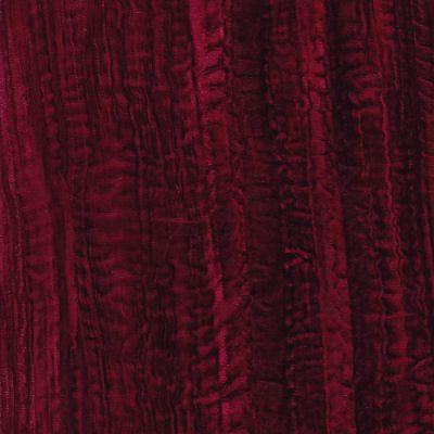 wine red crushed velvet