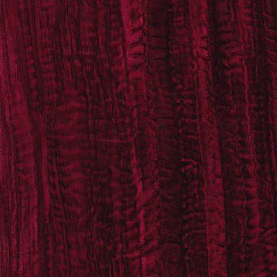 wine red crushed velvet