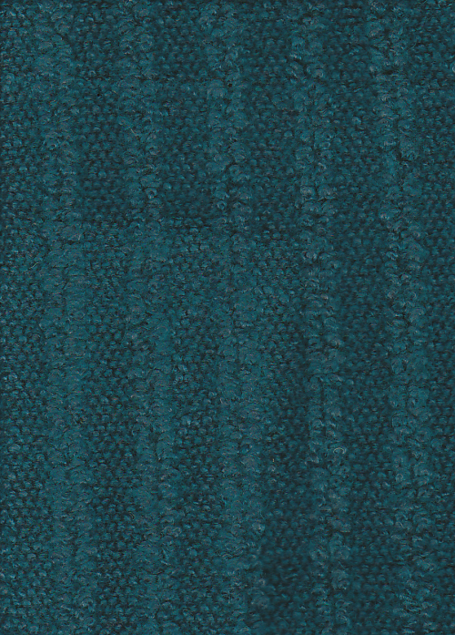 teal stripe boucle wool mix heavy jersey