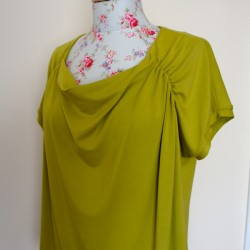 green bamboo jersey