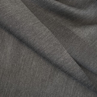 charcoal soft flexible woven iron-on interfacing for speed tailoring and general dressmaking use. Medium / heavy weight for wool, linen, tweed, denim, etc.