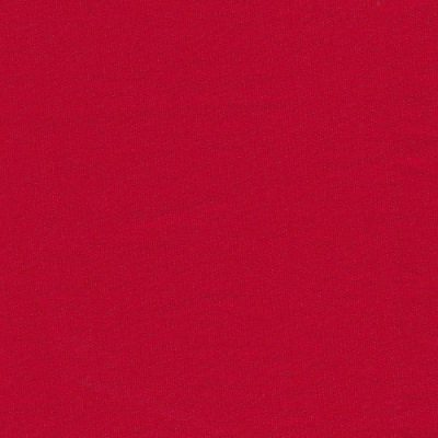 red stretch cotton sateen