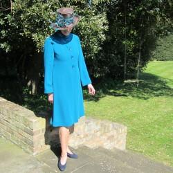 triple crepe coat and dress