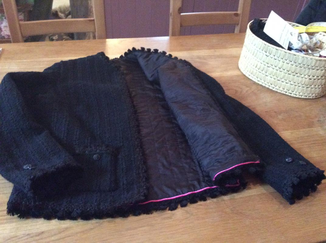 Laurent Garigue bouclé knit Chanel type Jacket