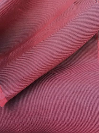 Shot red and blue viscose and acetate high quality coat lining