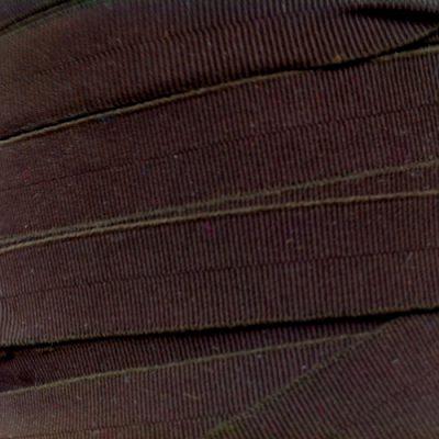 brown narrow fold-over elastic