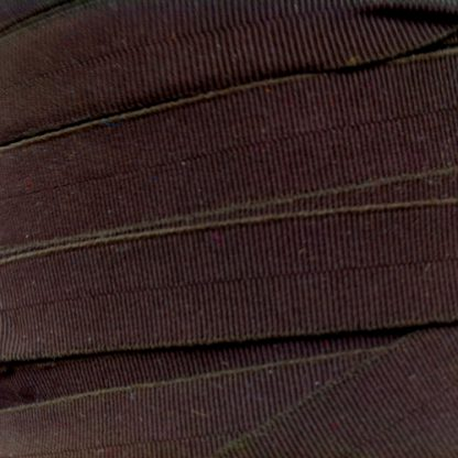 brown narrow fold-over elastic