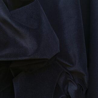 Navy Blue100% Cotton lightweight (225gsm) Velvet