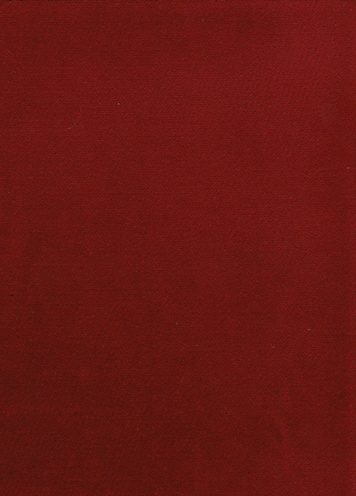 Wine red cotton velvet from Neideck