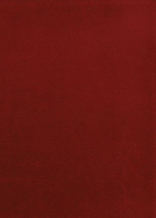 Wine red cotton velvet from Neideck
