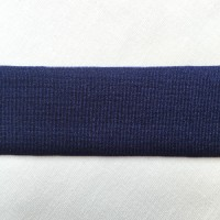Navy Lycra tape used for binding, stabilising and finishing