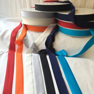 Lycra tape used for binding, stabilising and finishing