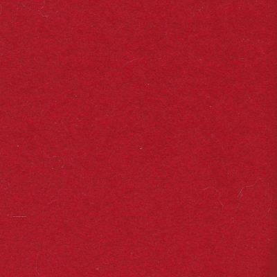 Red virgin wool melton coating