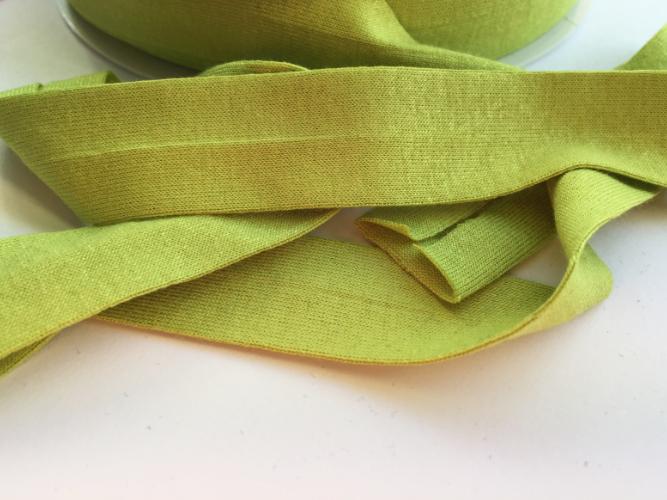 Lime Green Jersey Bias Binding