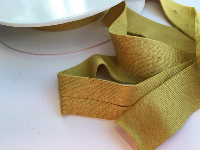Mustard Yellow Jersey Bias Binding