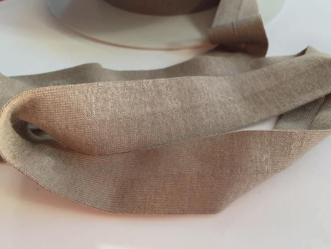 Taupe Jersey Bias Binding