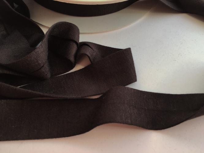 Espresso Brown Jersey Bias Binding