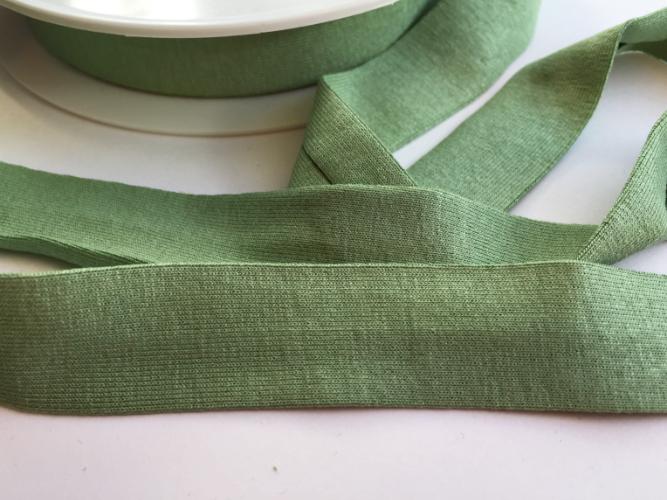 Mint Green Jersey Bias Binding