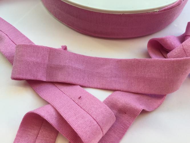 Clover Pink Jersey Bias Binding