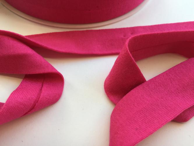 Fuchsia Pink Jersey Bias Binding