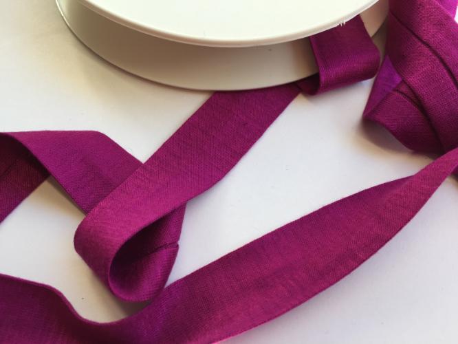 Magenta Pink Jersey Bias Binding
