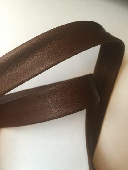 dark brown pvc bias binding