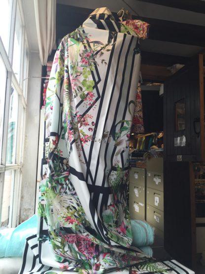 7148 digital floral print cotton