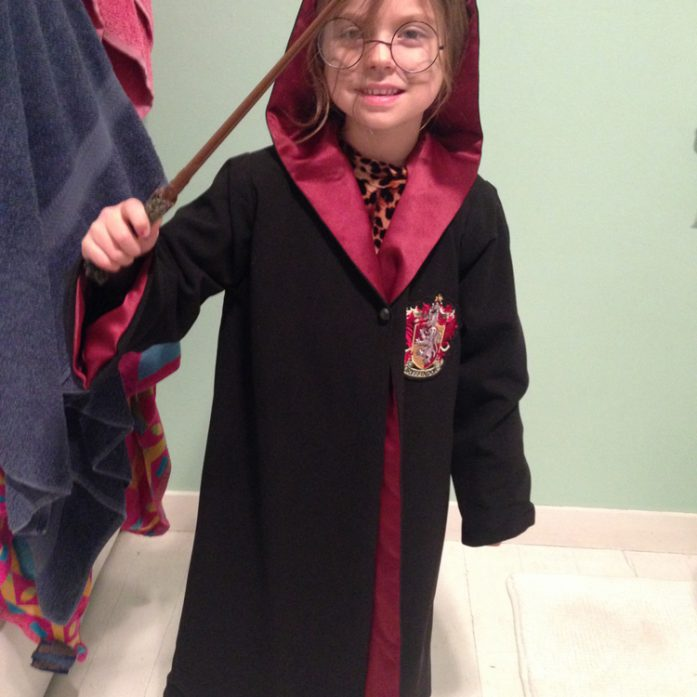 Harry potter cape costume