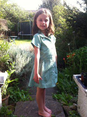 Burda 9417 dress