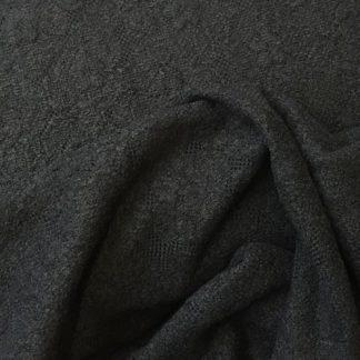 black lacy knit mixed fibres jumper knit