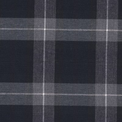 brue check brushed cotton 7568