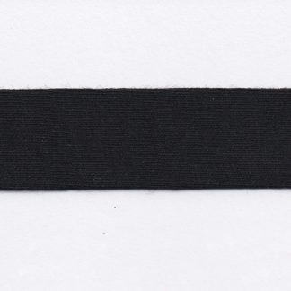 black cotton jersey bias binding