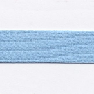 light blue cotton jersey bias binding