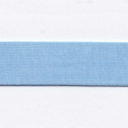 light blue cotton jersey bias binding