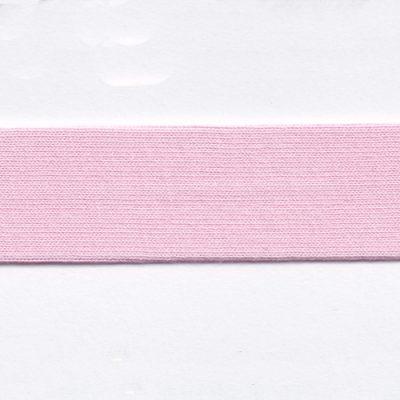 Light Pink cotton jersey bias binding