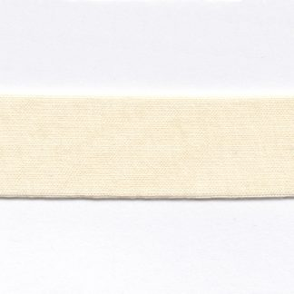 cream cotton jersey bias binding
